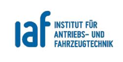 Logo des Instituts für Antriebs- und Fahrzeugtechnik (iaf)