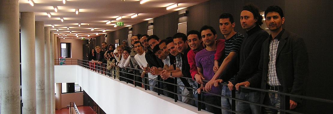 Internationale Studierende im Studienkolleg