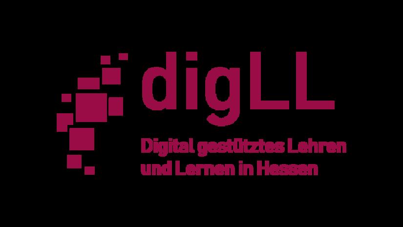 Logo Projekt - Digital gestütztes Lehren und Lernen in Hessen