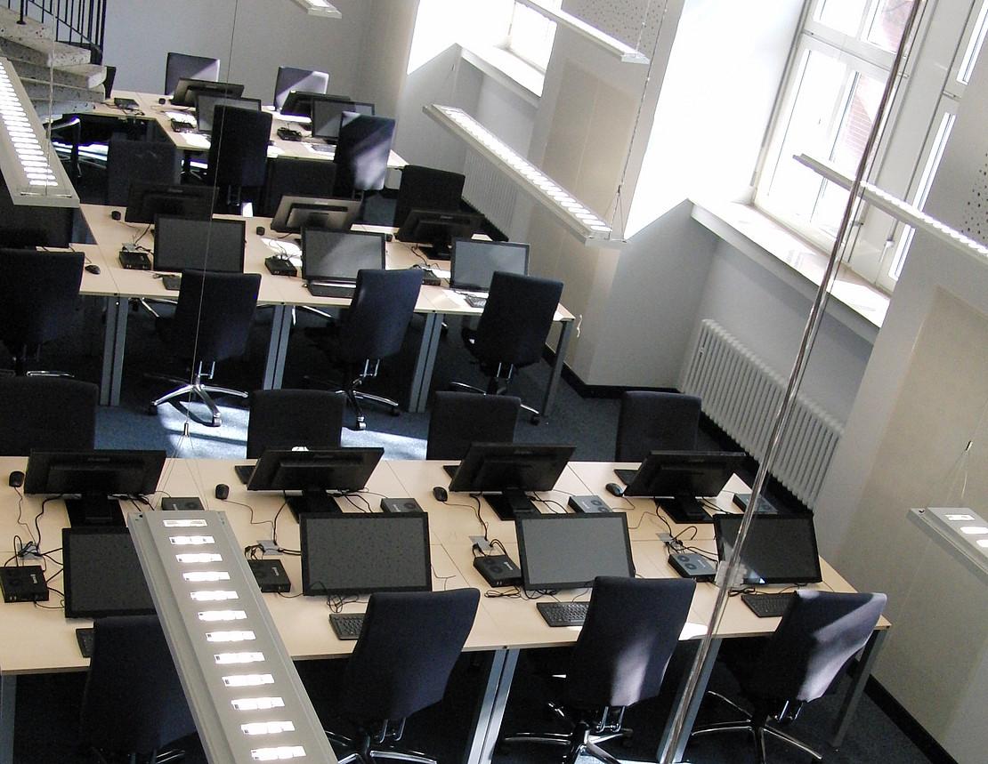 Foto: E-Assessmentcenter von oben