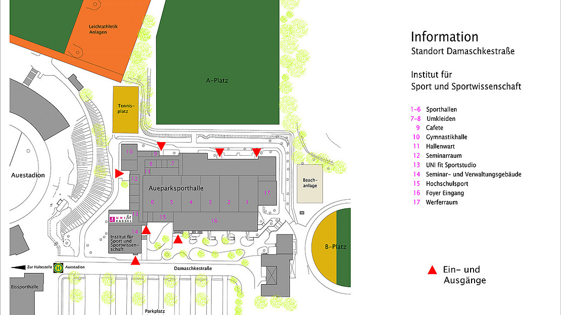 Informationsplan / Lageplan