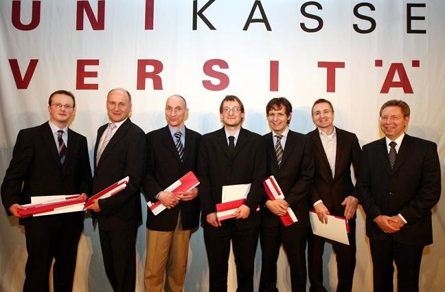 Preisverleihung am Universitätstag 2009