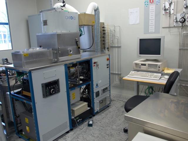 [Translate to English:] Foto: Oxford Plasmalab 100 ICP-RIE