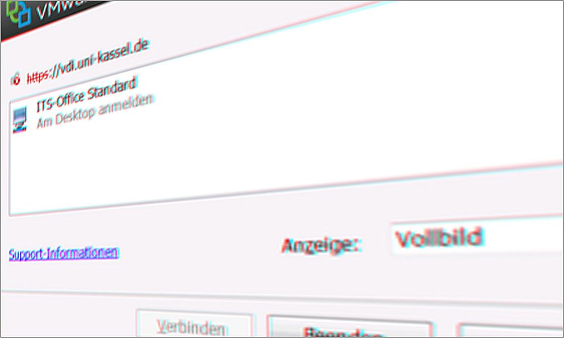 Virtuelle Desktopumgebung