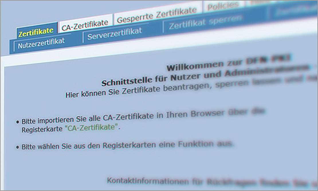 PKI/Zertifikate