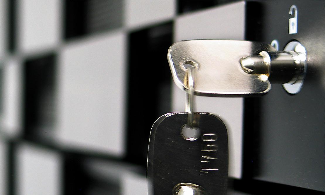 Serverschrankverschluss mit Schlüssel