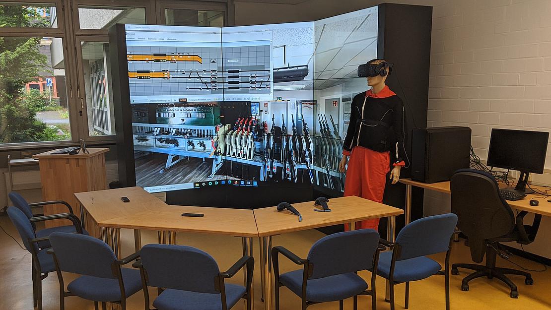 cEYEberman Messanzug im Digital Classroom