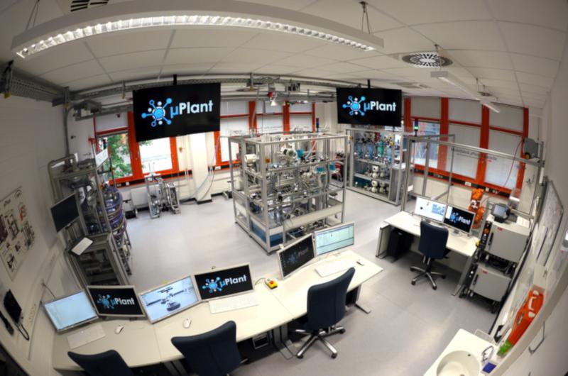 Modellfabrik (Lernfabrik) µPlant