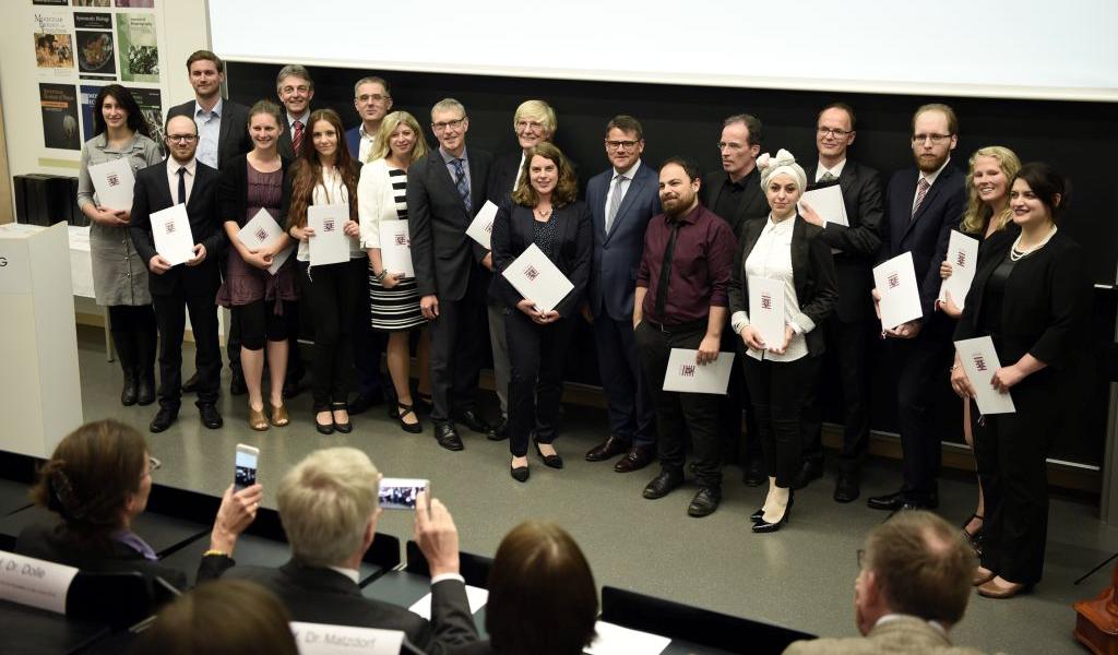 Gruppenfoto Lehrpreis Hessen 2018