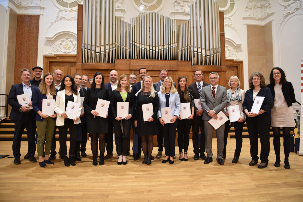 Gruppenfoto Lehrpreis Hessen 2019