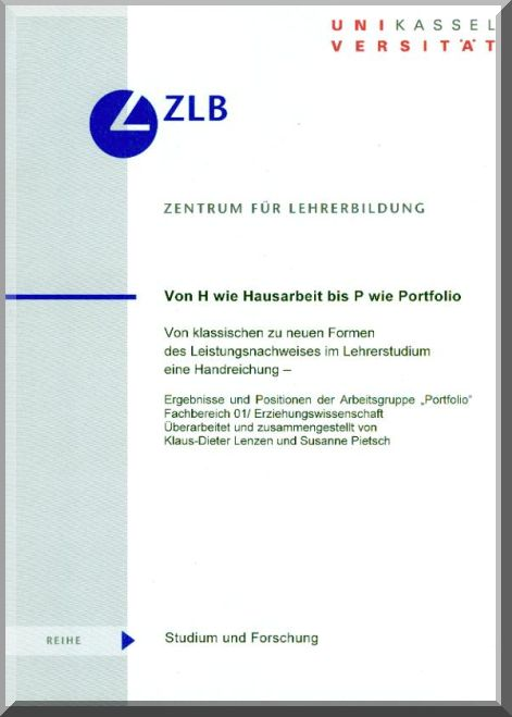 Von H Wie Hausarbeit Bis P Wie Portfolio Publikation Bei Kassel University Press